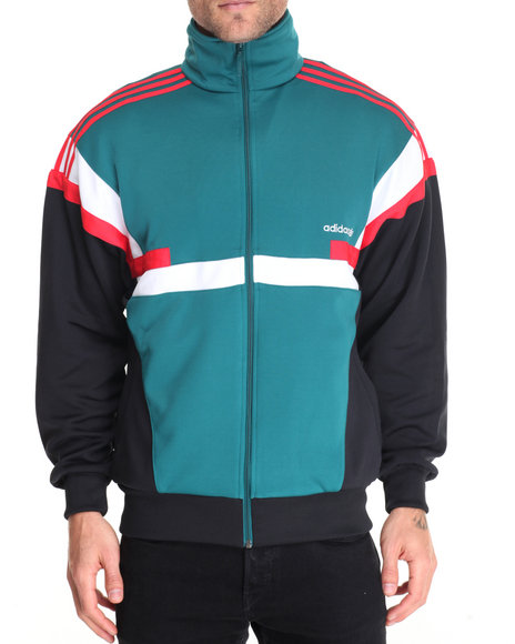 Adidas Men Brion Track Jacket Green Small