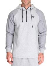 Men - Sport Luxe Twill Fleece Hoodie