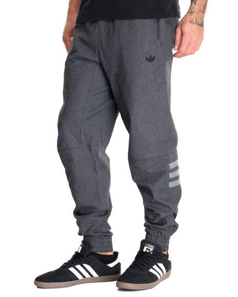 Adidas Men Sport Luxe Woven Pants Black Small