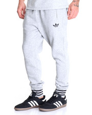 Jeans & Pants - Low Crotch Fleece Joggers