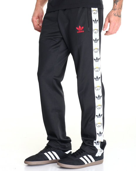 Adidas - Men Black Retro Bear Track Pants