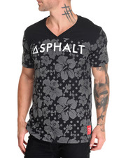 Men - Reflect Hibiscus S/S Football Top