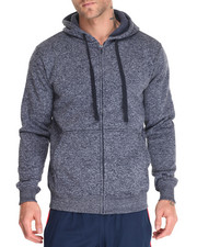 Men - Marled Full Zip Hoody