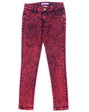 La Galleria - HIGH WAIST ACID WASH JEANS (7-16)