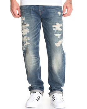 True Religion - True Blue Ricky Ripped Jean
