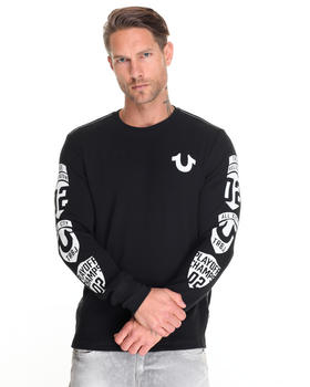 True Religion - TR L/S Arm Patch Tee