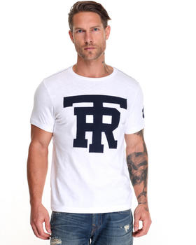 Men - Flocked University TR Tee