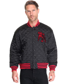 Jackets & Coats - Quilted Varsity Jacket