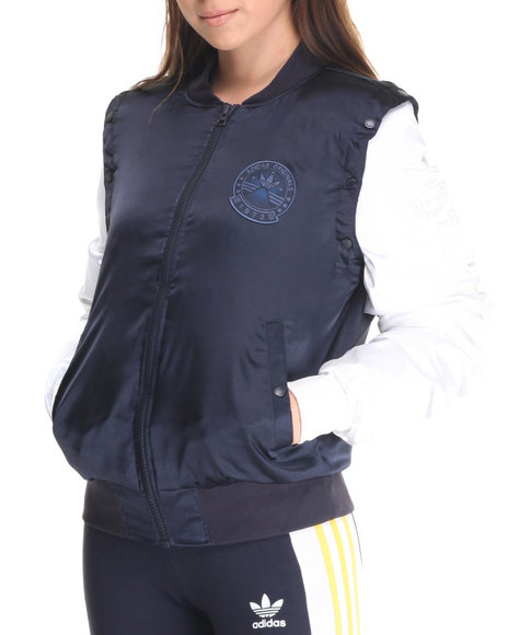Adidas - Women Navy Cosmic Confessions Jacket