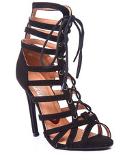 Fashion Lab - Sweet Paradise Lace Up Heel