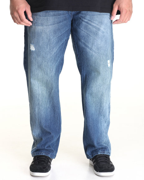 Akademiks - Men Medium Wash Sinclair Denim Jean (B&T)