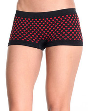 Intimates & Sleepwear - Heart Textured 3Pk Seamless Shorts