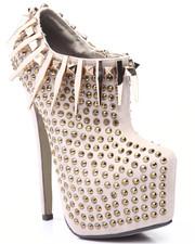 Footwear - Anabelle Stud Platform Heel