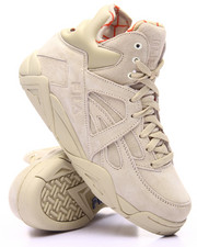 Footwear - Cage Taupe Hi Top