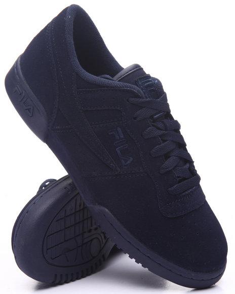 Fila - Men Navy Original Suede Fitness Sneaker