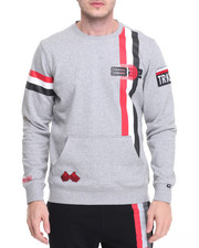 Men - Stripe Sweatshirt