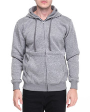 Hoodies - Marled Full Zip Hoody