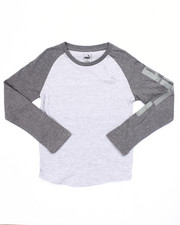 Sizes 8-20 - Big Kids - L/S PUMA RAGLAN (8-20)