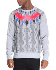 Men - Sweat Print Sweatshirt
