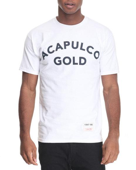 Acapulco Gold - Men White Championship Tee