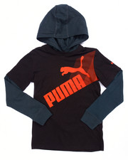 Sizes 8-20 - Big Kids - PUMA HOODED THERMAL TWOFER (8-20)