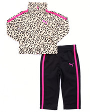 Puma - ANIMAL PRINT TRICOT TRACK SET (INFANT)