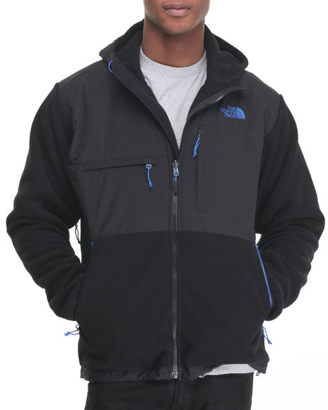The North Face - Men Black,Blue Denali Hoodie