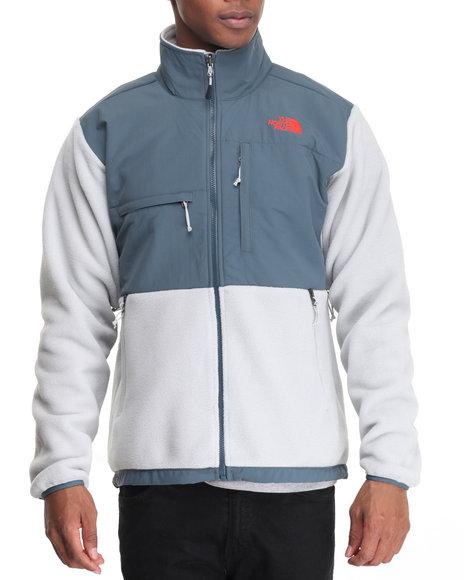 The North Face - Men Blue,Grey Denali Jacket