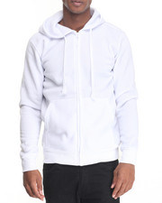 Men - Classic Full Zip Fleece Hoody