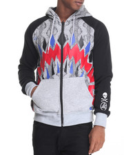 Men - Graphic Full Zip Hoodie