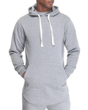 Men - Pullover Hoody w Side Zip