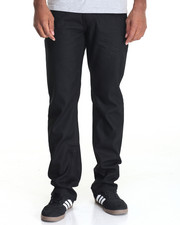 Jeans & Pants - Point Cross - Hatch Coated Denim Jeans