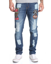 Jeans & Pants - Patch Work Denim Jeans