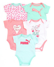 Girls - 5 PACK BODYSUITS (NEWBORN)