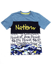 Sizes 8-20 - Big Kids - WORLD WIDE CUT & SEW TEE (8-20)