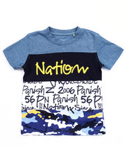 Short-Sleeve - WORLD WIDE CUT & SEW TEE (2T-4T)