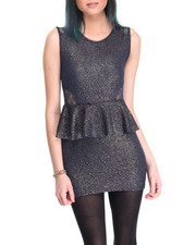 Dresses - Marla Peplum Dress