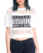 Fashion Lab - Boxy Crop Top