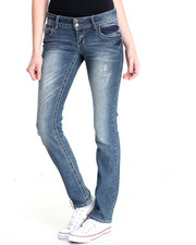 Women - Rebel By Right Heavy Stitch Skinny Jean