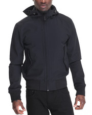Members Only - Hooded Tech Jacket