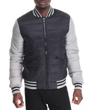 Members Only - Packable Puffer Varsity Jacket