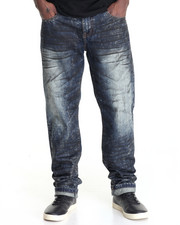 Men - ROAD KILL BLACK RINSE DENIM JEANS