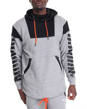 Men - Tech French Terry Thermal - Lined Pullover Hoodie