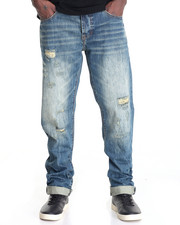 Men - DILLIAN WHEAT WASH DENIM JEAN