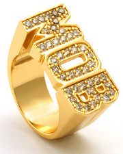 Accessories - Gold CZ Money Over Bitches Ring