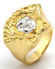 Accessories - 14K Gold Medusa Ring