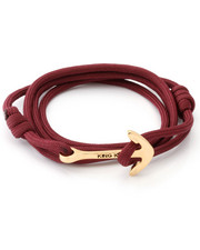 Accessories - 18K Gold Crimson Anchor Wrap Bracelet
