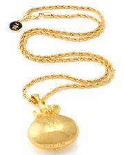 "Accessories - 18K Gold Money ""Stash"" Necklace"