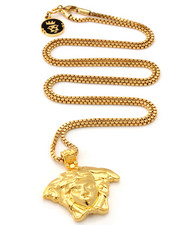 Accessories - 18K Gold Medusa Necklace