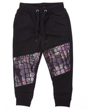 Sweatpants - JOGGER W/ EMBOSSED CROC (4-7)